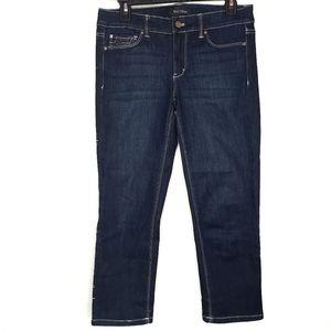 White  house black Market Slim crop Jeans